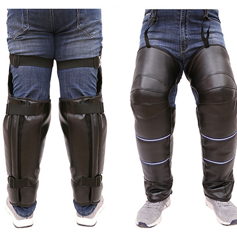 Motorcycle Winter Knee And Leg Protectors Warm Motocross Knee Pads Scooter E-bike Trikes Use In Winter Scooter Leg