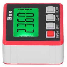 Densimetro hydrometr inklinometr cyfrowy Mini miernik kąta kątomierz elektroniczny 360 stopni densytometr pomiarowy tanie tanio VBESTLIFE NONE Do obróbki drewna CN (pochodzenie)