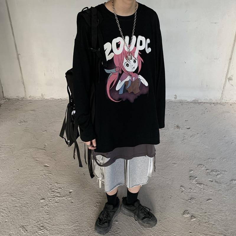 Купить индивидуальная горячая распродажа футболка harajuku с принтом