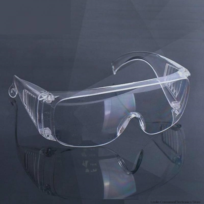 PC-Safety Glasses Eye Protection Anti-Dust&Shock Goggles Transparent Eyepiece Chemical Gafas Proteccion