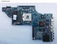 655489 001 alta qualidade frete grátis portátil placa mãe para hp pavilion dv7t DV7 6000 placa mãe hd6770 2 gb trabalho de teste Placa-mãe para notebook     -
