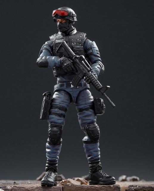 Joytoy 1/18 Action Figure Swat Soldier In Game Karakter Cross Fire (Cf) Gratis Verzending