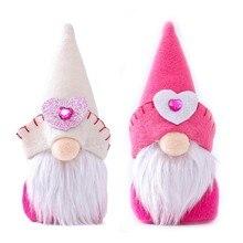 Sevgililer günü yüzü olmayan cüce bebek Elf heykelcik ev dekorasyon çocuk çocuk sevgilisi hediye