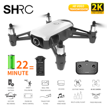 цена на SHRC WIFI FPV Drone with camera HD 1080P Quadcopter Rc helicopter Foldable Altitude Hold Remote Control Helicopter Mini drone