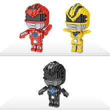 hot LegoINGlys creators Classic movie Ranger super heroes figures nano micro diamond building blocks model bricks toys for gifts dr tong 80pcs glory of kings figures one of china romance the three kingdoms king knight heroes building blocks toys gifts 29001