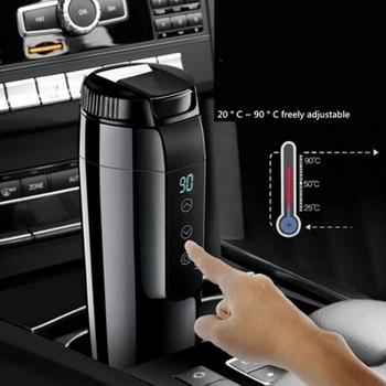 12V 350ml Portable Travel Car Electric Heating Cup Heating Water Kettle Coffee Tea Milk Heated Soaked Noodles Boiler Sonifer 3l electric water boiler instant heating electric kettle water dispenser adjustable temperature coffee tea maker office 2000w