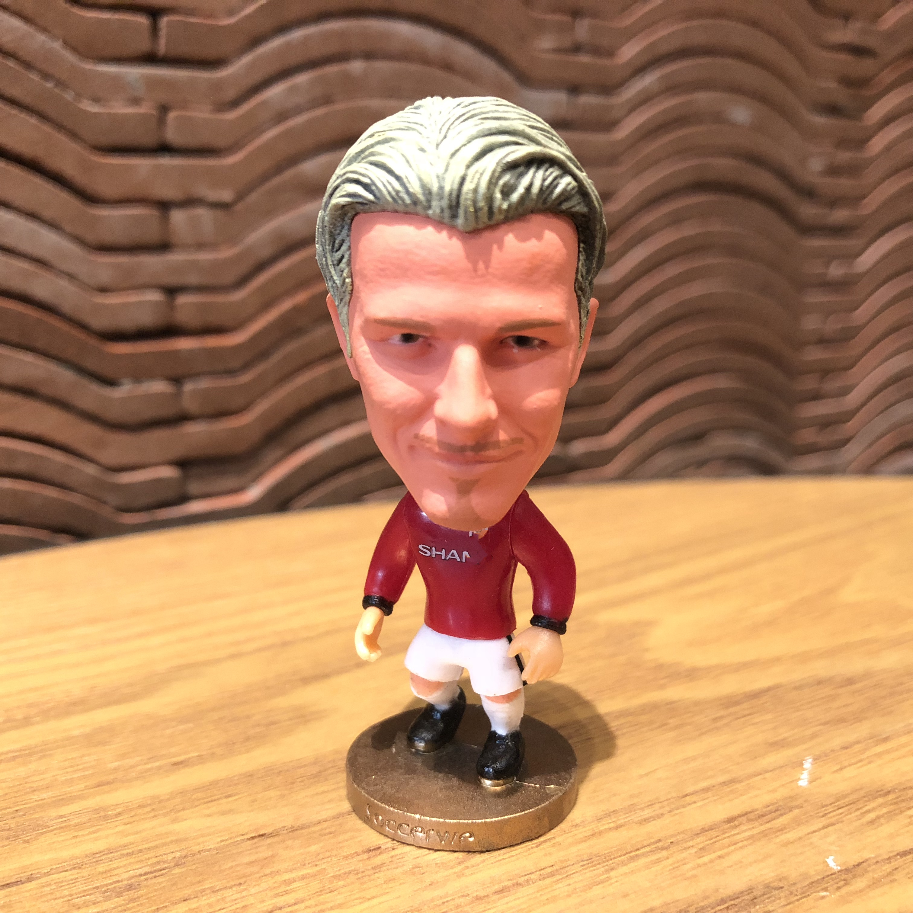 Football Star Beckham Classic Resin Doll Action Figure 6.5 Cm Mini Toy Collectible Gift