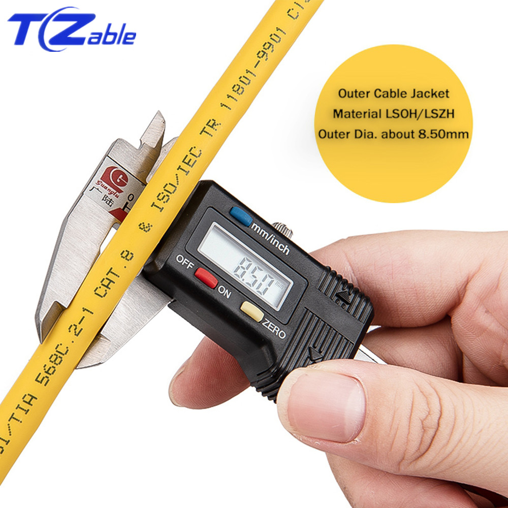 Image 4 - 40Gbps 2000MHz Cat8 SFTP Dual Shielded Network Cable Support POE 100W Ethernet Cable 5M 10M 30M 50M 100M