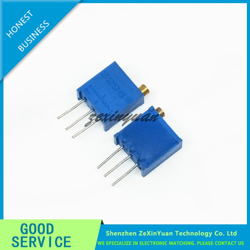 20pcs 3296W-1-205LF 3296W 205 2M Ohm Top Regulation Multiturn Trimmer Potentiometer High Precision Variable Resistor