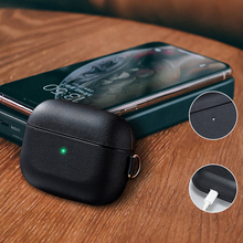 2019 Vintage Leather Case for Airpods Pro Shockproof Protective Air Pods 3 Case Cover Business Style