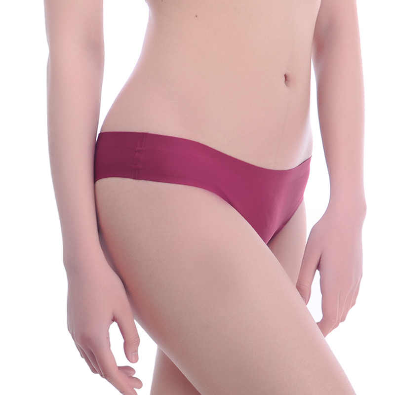 3 ชิ้น/เซ็ตชุดชั้นในสตรีกางเกงไม่มีรอยต่อขนาดใหญ่เซ็กซี่หญิงน้ำแข็งผ้าไหมบิกินี่ผ้าฝ้ายเป้าT-กลับ