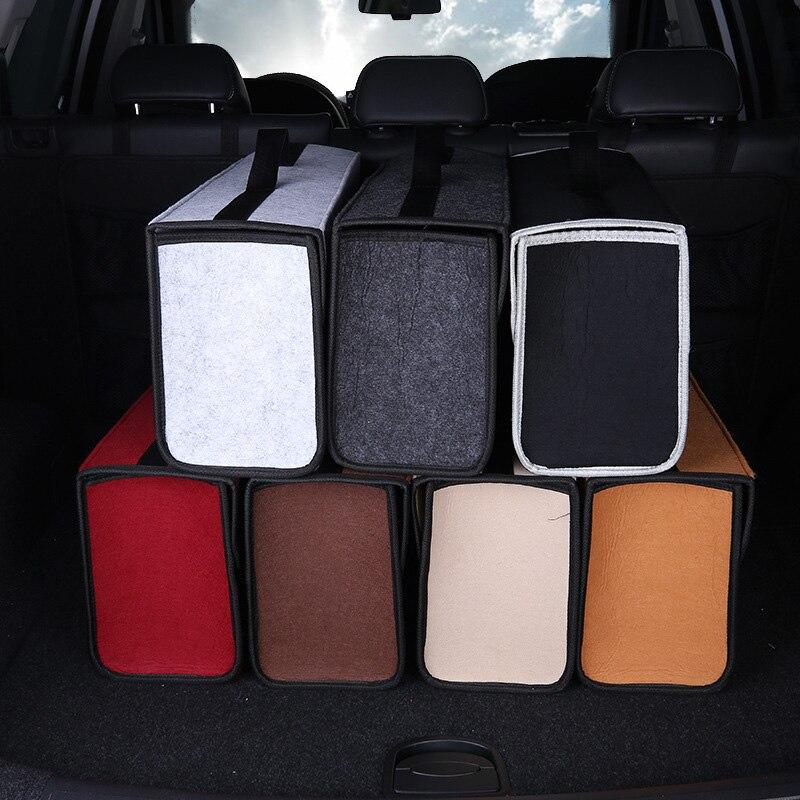 Портативный автомобильный ящик для хранения многофункциональный автомобильный ящик для инструментов складной ящик для инструментов сумка для хранения в багажник автомобиля Автомобильный держатель для хранения Органайзер