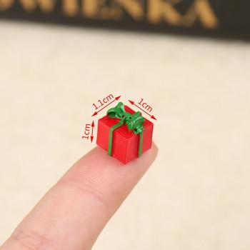 New 5PCS Dollhouse Miniature 1 12 Scale Christmas Gift Box Pretend Play Mini Doll House