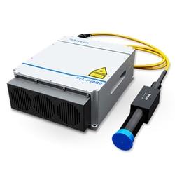 Pieza de Máquina de marcado láser de fibra Raycus q-switched, fuente láser de fibra de pulso, 20W, 30W, 50W, 100W