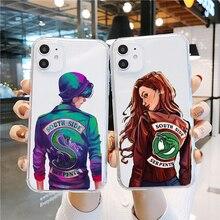PUNQZY Soft Case Cover American TV Riverdale Phone case for iphone 11 PRO MAX 7 7S 6 8 8plus X XR XS MAX Transparent Soft  CASE