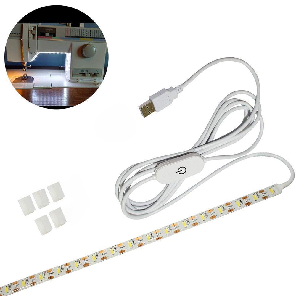 Super Bright 30cm 50cm Sewing Machine LED Light Strip Light Kit DC 5V USB Sewing Light Industrial Machine Working LED Lights