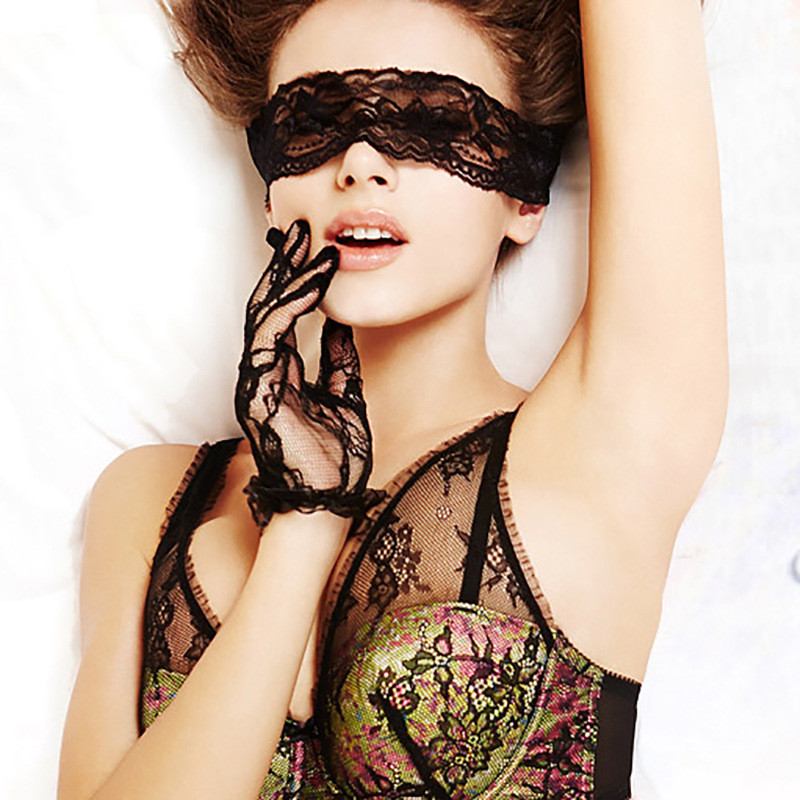 10pcs Lace Eye Mask Blindfold Bdsm Bondage Sex Tools For Sale Slave Lace Erotic Toy Party Sextoy Role-play Slutty Gimp