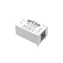 Gratis verzending nieuwe Hi Link ac dc 5v 3w power module HLK PM01 witte kleur