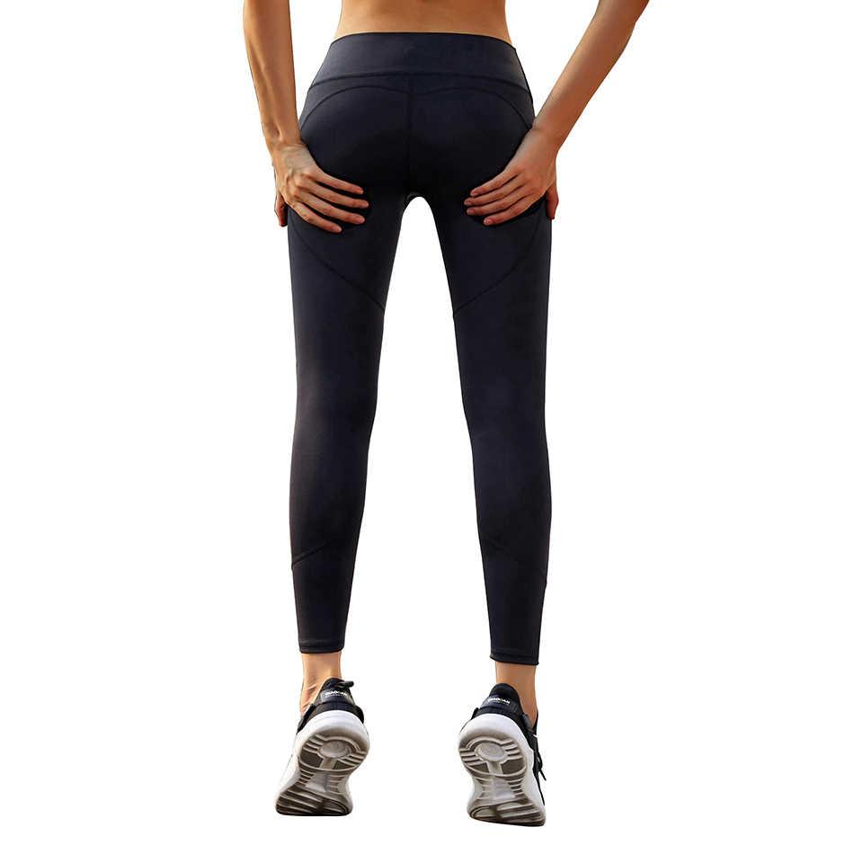LI-FI штаны для йоги с высокой талией, леггинсы для фитнеса, йоги, спортивные Леггинсы для тренировок, бега, штаны для йоги, эластичные тонкие спортивные Леггинсы