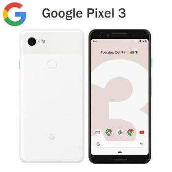 Перейти на Алиэкспресс и купить Оригинальная версия США Google Pixel 3 Мобильный телефон 5,5 дюймов 4 Гб 64 Гб Snapdragon845 OctaCore 12.2MP NFC 2915 мАч 4G Android смартфон