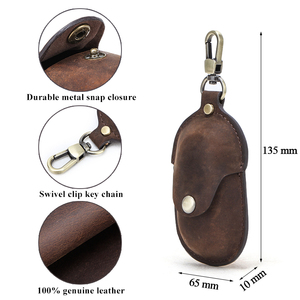 Image 5 - For Galaxy Earbuds+ 2020 Genuine Leather Case for Samsung Galaxy Buds Case Keychain Protecive Cover Charging Soft Ecouteur Coque