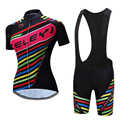 2020 women cycling clothing pro triathlon bicycle clothes short sleeve mtb bike jersey set skinsuit dress kit female sport wear