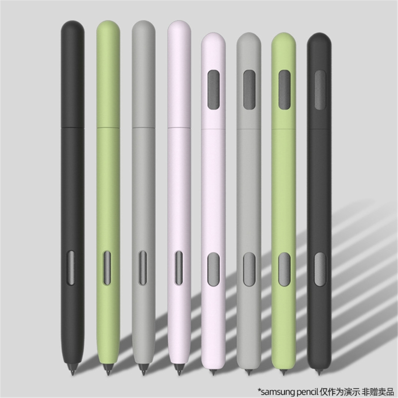 Простой деловой пенал для Sam-sung Galaxy- Tab S6 S7 S-Pen Cover, милый мультяшный силиконовый пенал для планшета X6HA