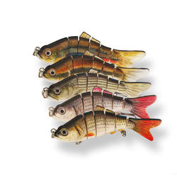 Искусственная рыболовная приманка, 10 см, 20 г, искусственная приманка, рыболовная снасть, верхний воблер-Минноу для рыбалки, пластиковая