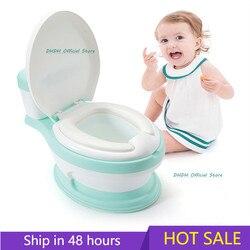 Детский горшок, Детский горшок, новое сиденье для обучения, детский туалет, портативный писсуар, симуляция детского унитаза, тренажер для кр...