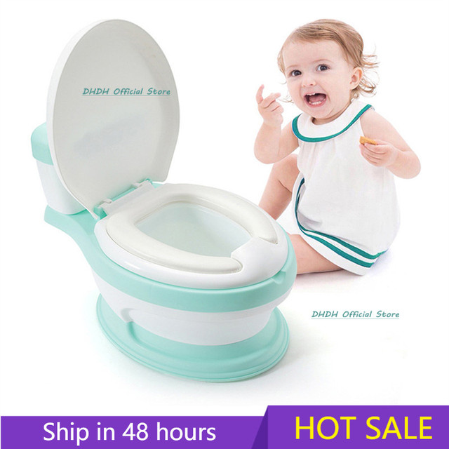 Baby Potty Children's Potty New Training Seat Baby Toilet Portable Backrest Urinal simulation Kids Toilet Trainer Bedpan