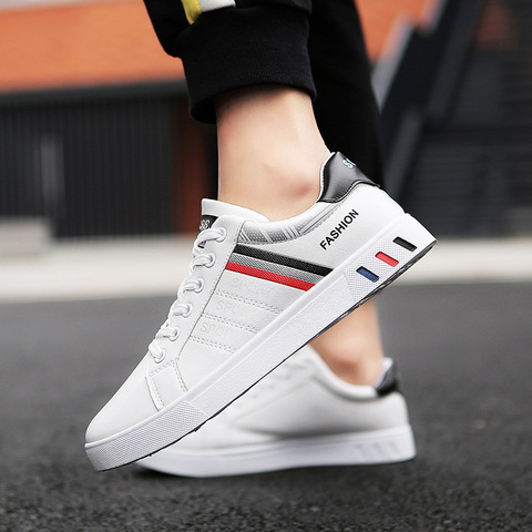 2019 Spring White Shoes Men Shoes Mens Casual Shoes Fashion Sneakers Street Cool Man Footwear Zapatos De Hombre Tenis Masculino Islamabad