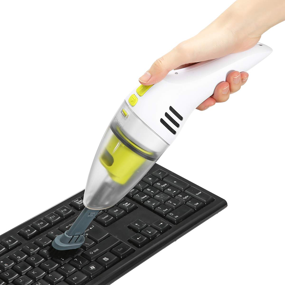 Strong  Mini Vacuum Cleaner USB Recharging Handheld Wireless Portable Wet & Dry Dual Use for Home Car Laptop PC Keyboard