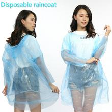 Ms. Raincoat Poncho Disposable Adult Transparent Thicken Outdoor Waterproof Kids Fashion