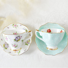 Porcelain-Dish Coffee-Set 200ML Ceramic Afternoon Creative China European-Bone Tea-Milk-Cup