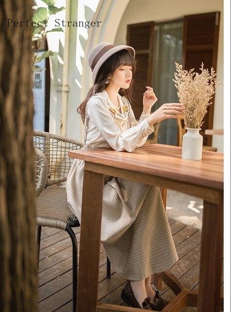 2020 Autumn Winter  New Arrival Hot Sale V Collar Long Sleeve Women Long Dress 5