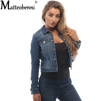 Autumn Women Black Jean Jacket Oversized Crop Denim Jackets Vintage Long Sleeve Short Jacket Winter Casual Slim Coat Streetwear jaycosin women jackets coats autumn winter fashion slim long sleeve leather coat short jacket with pockets casual outwear 1011