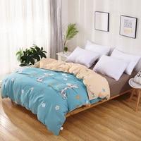 Hot sale 100% cotton bedding set 3pcs 1 duvet cover and 2 pillowcases,not bedsheet,bedcloths free shipping