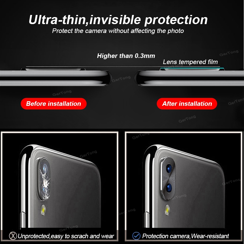 Camera Lens Protector Ring Plating Aluminum For Xiaomi Redmi Note 7 8 Pro Cover Ring Protection 4