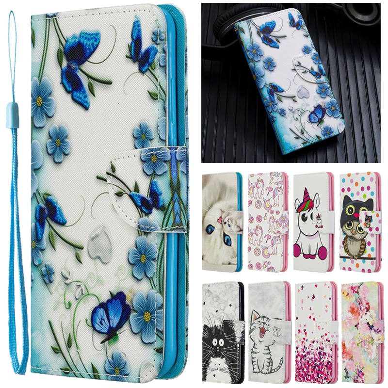 <font><b>Huawei</b></font> Y7 <font><b>2019</b></font> Case Leather Case on sFor Coque <font><b>Huawei</b></font> Y7 <font><b>2019</b></font> Cover for <font><b>Huawei</b></font> <font><b>Y</b></font> <font><b>7</b></font> <font><b>2019</b></font> Y7 2018 Case <font><b>Fundas</b></font> Wallet Phone Cases image