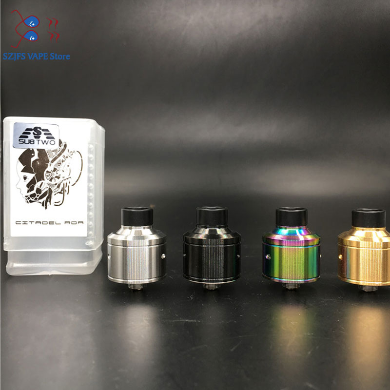 <font><b>QP</b></font> Design <font><b>KALI</b></font> <font><b>V2</b></font> <font><b>RDA</b></font> Atomizer 1:1 22mm Diamter PC PEI Material Ecig fit for 510 Mods vape tank VS Fatality Juggerknot mini image