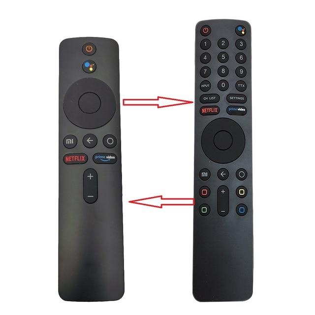 For Xiaomi Mi TV, Box S, BOX 3, MI TV 4X Voice Bluetooth Remote Control with the Google Assistant Control 3
