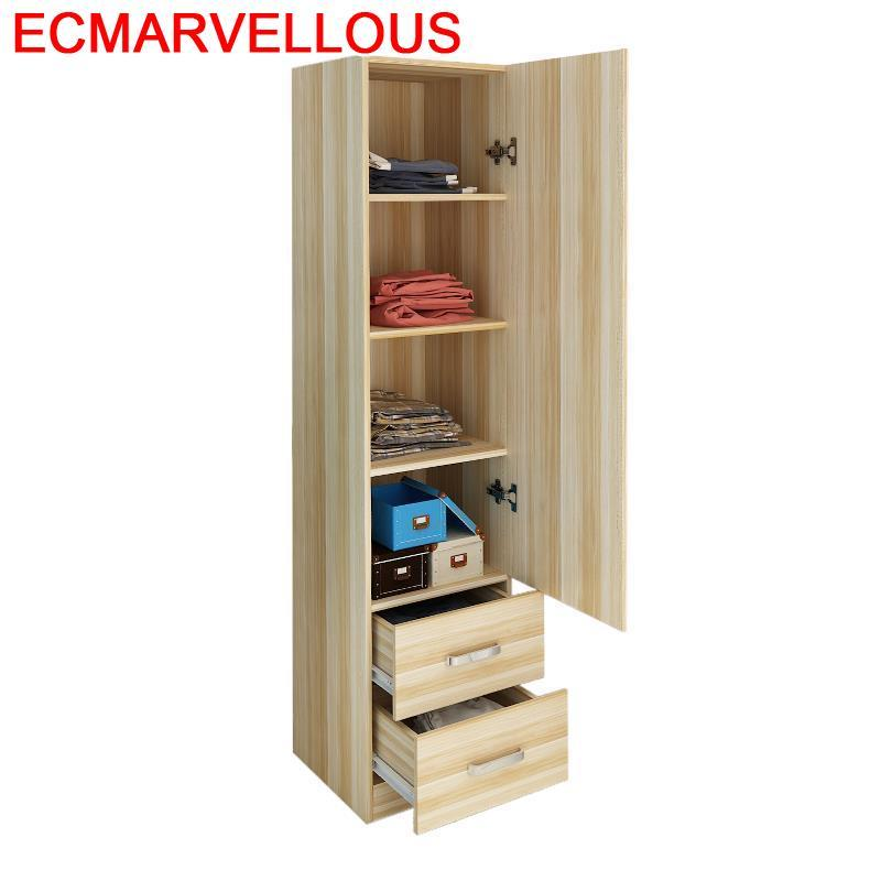 Storage Lemari Ropero Yatak Odasi Wooden Kast Armario Mobilya Clothing Bedroom Furniture Mueble De Dormitorio Closet Wardrobe in Wardrobes from Furniture
