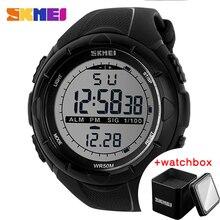 New SKMEI Brand Men LED Digital Military Watch 50M Waterproof Sports Watches Fashion Outdoor Wristwatches Relogio Masculino 1025