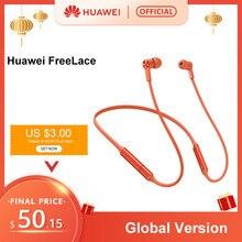 Original Huawei FreeLace Wireless Earphone Bluetooth Sport Waterproof In-ear Mem