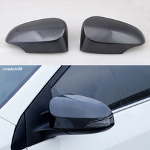 2 шт/компл автомобиля крышка зеркала боковой двери хром зеркало
