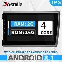 Josmile 2 din Android 8.1 Car Multimedia Player For VOLVO S60 VOLVO V50 V70 XC70 2000 200120022003 2004 Car Radio GPS Navigation