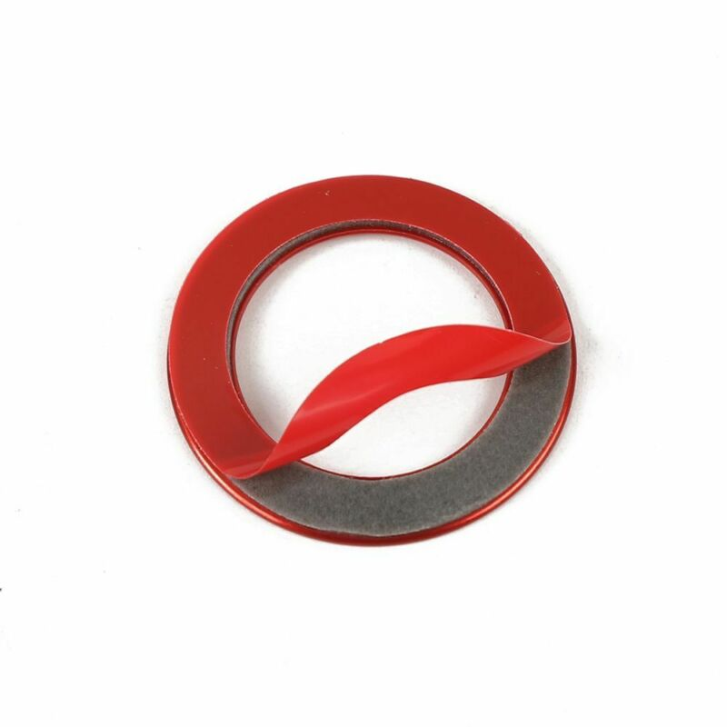 Car Button Switch Trim Auto Interior Inner Ring Decoration Parts Useful