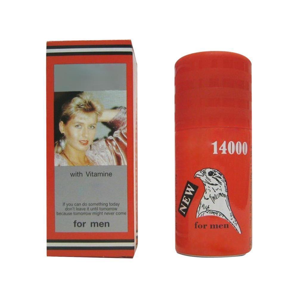 14000 RED DELAY SPRAY For MEN DELAY SPRAY WITH VITAMIN M1F0