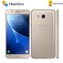 Samsung-smartphone J7(2016) J710F reacondicionado, Original, libre, 5,5 pulgadas, 2GB de RAM, 16GB de ROM, LTE, 4G, cámara de 13.0MP, ocho núcleos, huella dactilar