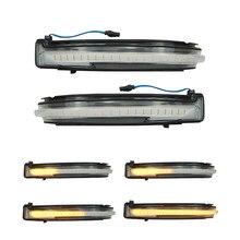 2x Luz de señal de giro de espejo lateral LED dinámico para Nissan x-trail T32 Qashqai J11 Murano Z52 Navara NP300 Pathfinder en